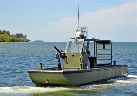 metal shark coastal patrol boats military boats metal shark