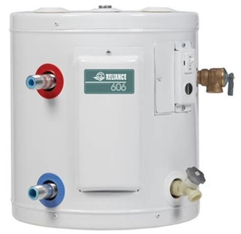 small electric water heater 10 gal plumbing water feed