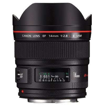 canon ef 14mm f 2.8l ii usm ultra wide angle lens