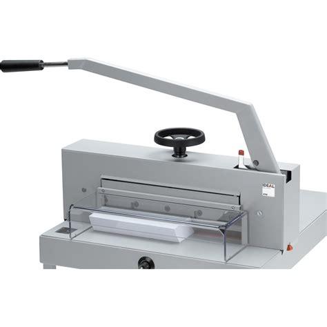 Pemotong Kertas F4 Alat Pemotong Kertas Ideal 4705 Stand Multikaweb Mitra