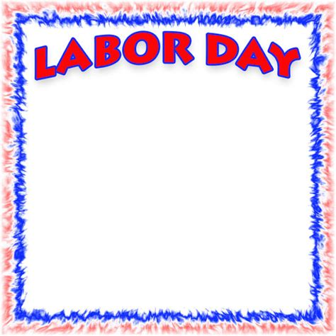 free labor day borders clipart