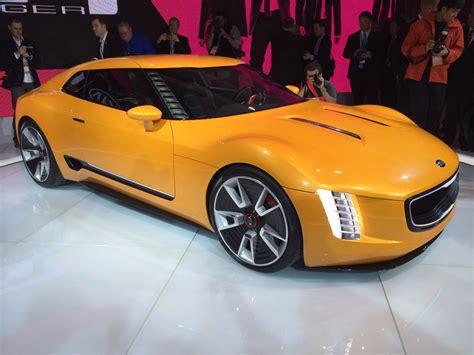Kia Sport Cars by Kia Gt4 Stinger Quot Aggressive Quot Sports Car Concept Unveiled