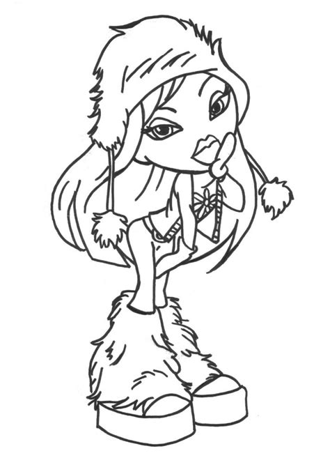bratz coloring pages 8 coloring kids