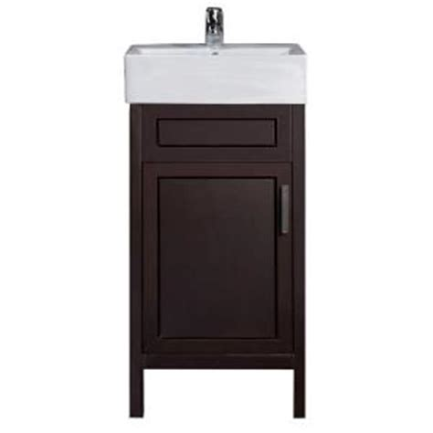 Home Decorators Vanity by Home Decorators Collection Arvesen 18 In W X 12 In D