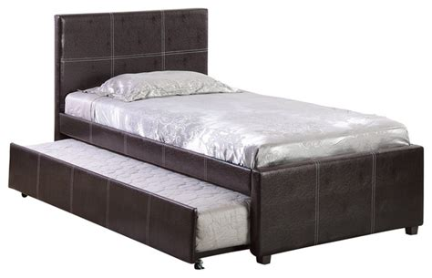 trundle bed mahogany contemporary beds by home