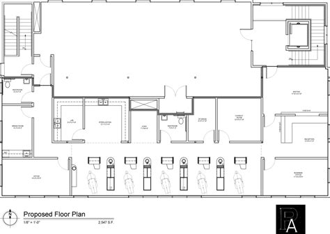 office floor plan sle dental office build out at w building missoula