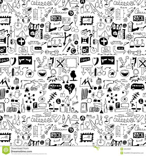 hand drawing pattern photoshop design elements doodle icons hand drawn stock