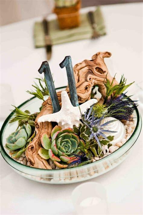 centerpiece ideen sukkulenten arrangement ideen tipps zur pflanzenpflege