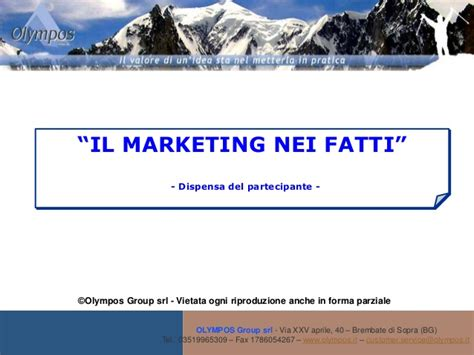 dispensa marketing dispensa il marketing nei fatti