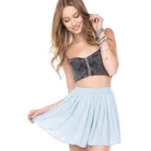 Overall Stripe Blouse dress dungarees burgundy blouse shirt stripes skirt