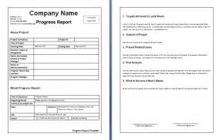 template for weekly report report templates free word s templates