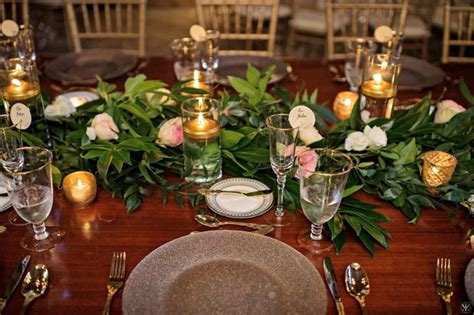 Table Mckee by Mckee Botanical Garden A Sparkle And Rustic Wedding A