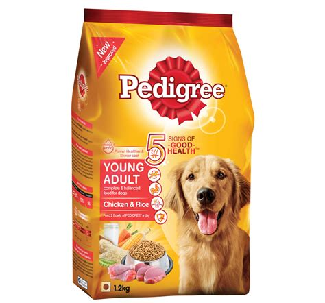 rice for dogs pedigree food chicken and rice 1 2 kg dogspot pet supply