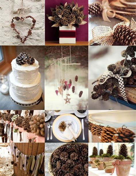 pine cone table l 25 best ideas about pine cone wedding on pinterest