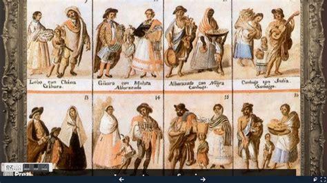 cuadros del siglo xviii cuadros de castas siglo xviii youtube