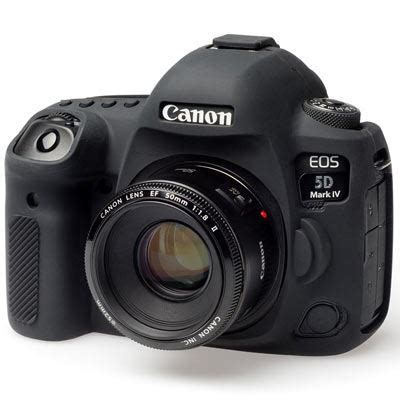 easy cover silicone skin for canon 5d mark iv black