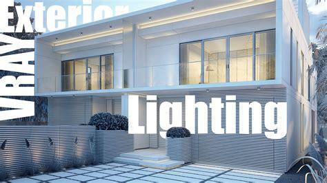 vray sketchup exterior lighting tutorial vray exterior lighting rendering video tutorial