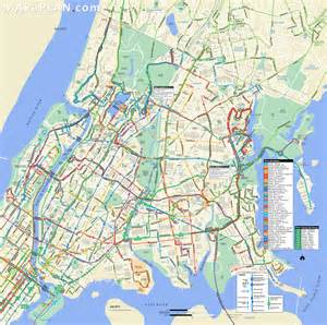 Map Of New York Bronx by Bronx Bus Map New York Map