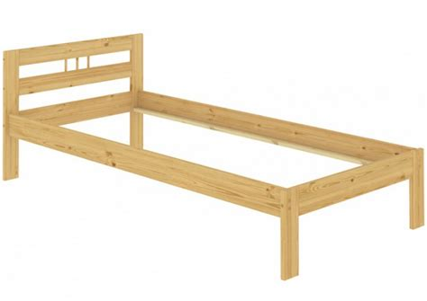 einzelbetten aus holz bettgestell aus massivholz 100x200 cm erst holz