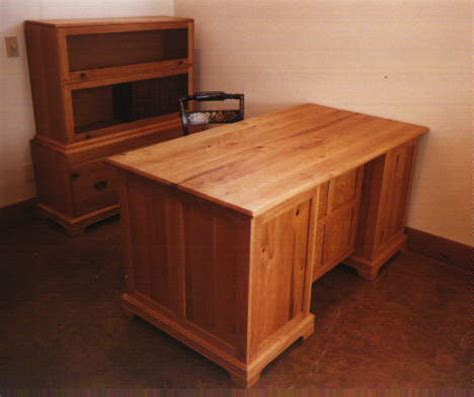 Handmade Office Furniture - custom executive desks handmade by dumond s custom furniture