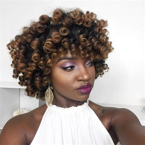 Rod Set Hairstyles by Perm Rod Set Hairstyle Black Naps
