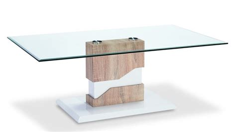 Wood And Glass Coffee Table Coffee Table Glass White High Gloss Wood Veneer Homegenies