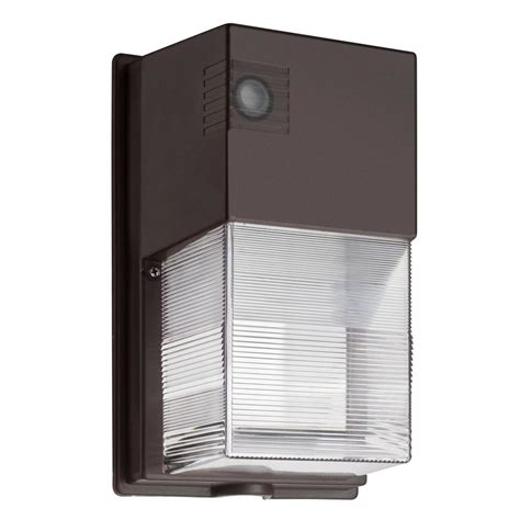 Outdoor Wall Light Led Lithonia Lighting Bronze Outdoor Integrated Led Wall Mount Wall Pack Light Owp Led P1 50k 120 Pe