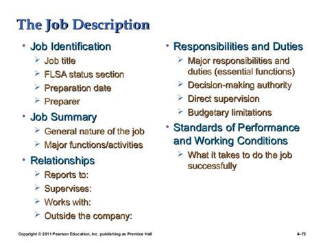 job identification section 3 job analyisis