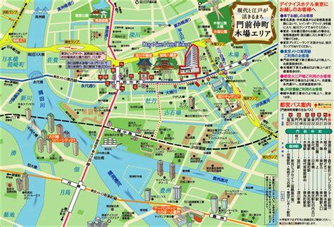 map of tokyo map of tokyo japan