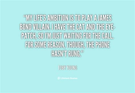 what is ambition in life