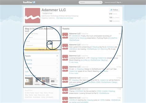 golden ratio graphic design layout adammer blog 187 video pushing pixels in the dotnetnuke