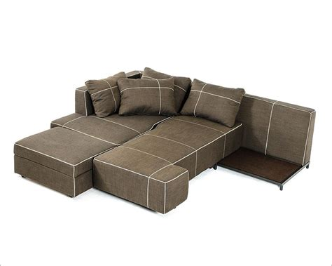 Contemporary Sectional Sofas With Chaise Fabric Sectional Sofa W Chaise In Contemporary Style 44l6035