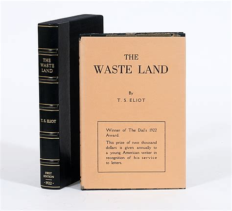 original land the waste land t s eliot 1st edition