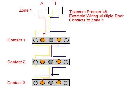texecom door contact wiring diagram 35 wiring diagram