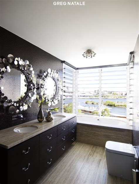 jonathan adler bathroom jonathan adler jere rain drops mirror contemporary