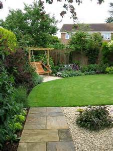 minimalist home landscape in small space with pavers and lawn part of landscape design