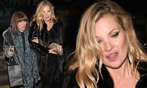 The 3am Worse For Wear Kate Moss And Osbourne Pair Up For A Out by Kate Moss Appears Worse For Wear At Fashion Awards