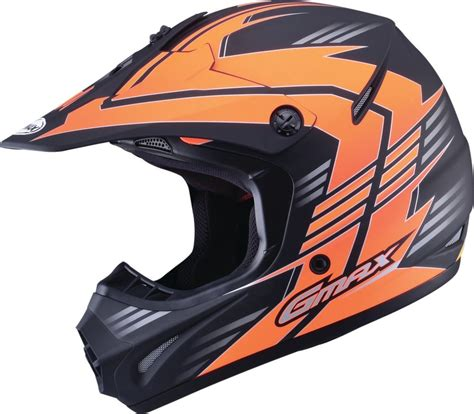 boys motocross helmet 66 75 gmax youth gm46 2x race offroad motocross helmet