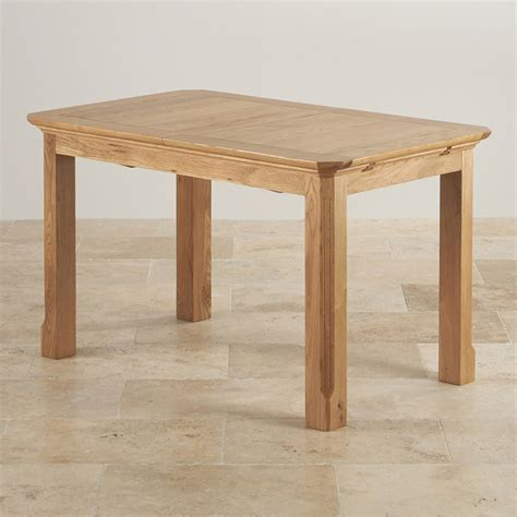 Edinburgh Extending Dining Table In Oak Oak Furniture Land Oak Furniture Land Dining Table