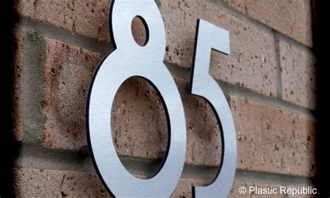 design house numbers uk floating and flat cut individual aluminium and acrylic