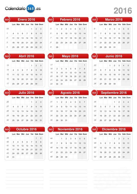 formato de supervivencia 2016 calendario 2016