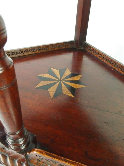 antique victorian floor standing corner cupboard  sale