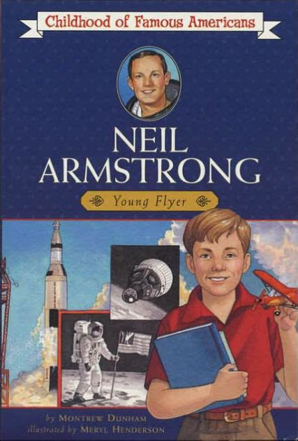 neil armstrong biography book neil armstrong young pilot by montrew dunham meryl