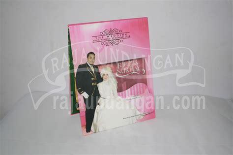desain undangan pernikahan pop up undangan pernikahan hardcover pop up rifqi dan nurhay edc 40