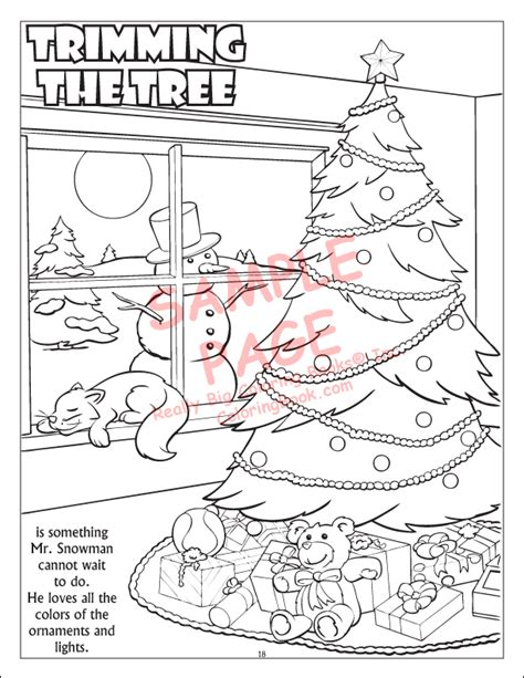 printable winter wonderland coloring pages