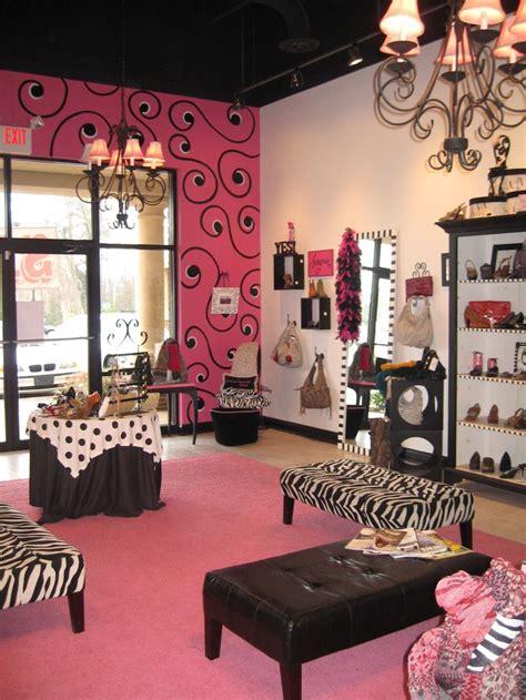 pink  black boutique decorating ideas pinterest