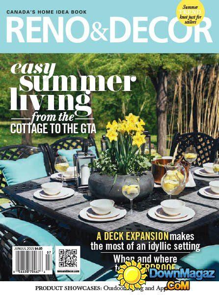 magazine reno decor june july 2016 canada read online reno decor june july 2015 187 download pdf magazines