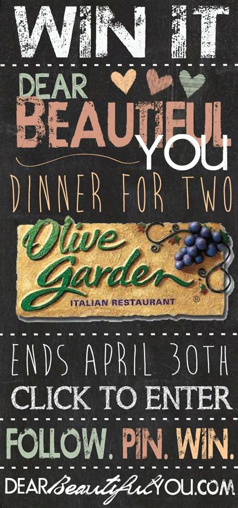 Gift Card Deals Olive Garden - best 20 olive garden gift card ideas on pinterest no signup required free deals