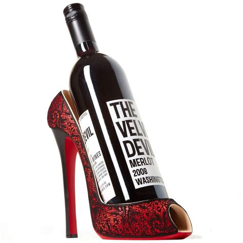 high heel wine holders 33 best shoe wine bottle holders images on