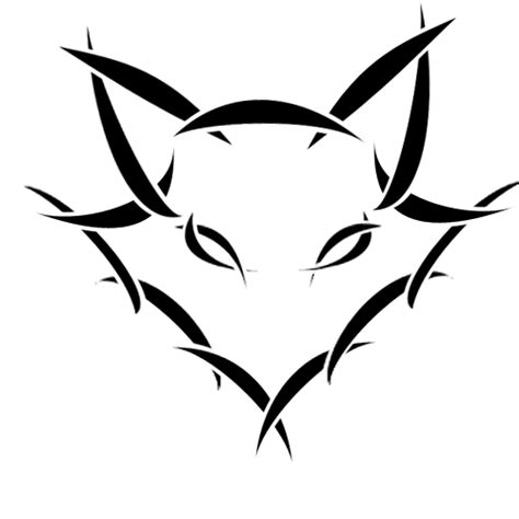 fox tribal logo by crestfallenvulpes on deviantart